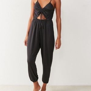 Out from Under Elsie Cinched Cutout Jumpsuit